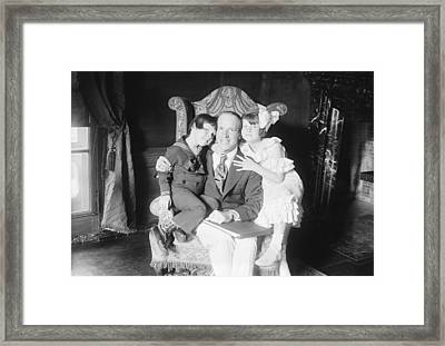 J. Stuart Blackton, Uk-us Film Producer Framed Print by Science Photo Library