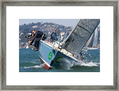 J105 Mojo Framed Print