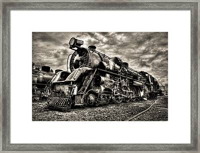 Ja1275 Loco Framed Print by Phil 'motography' Clark