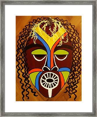 Jabari Framed Print by Celeste Manning