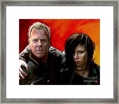 Jack And Chloe Framed Print by Dori Hartley