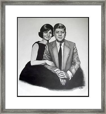 Jack And Jackie Framed Print