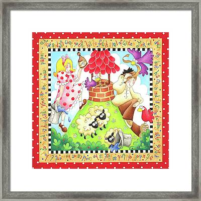 Jack And Jill Framed Print by P.s. Art Studios
