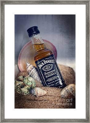 Jack At The Beach Framed Print by Ella Kaye Dickey