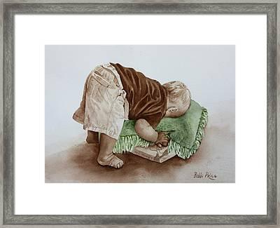 Jack Framed Print by Bobbi Price