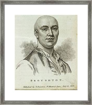 Jack Broughton Framed Print by British Library