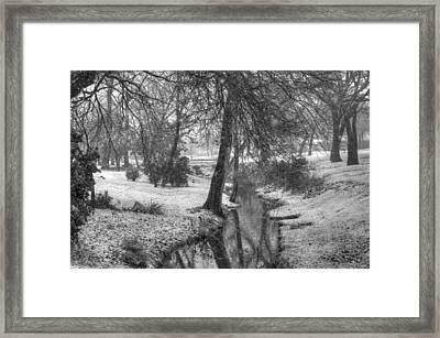 Jack Frost Bites Framed Print