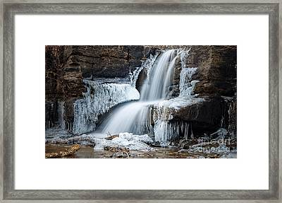 Jack Frosts' Throne Framed Print by Larry McMahon