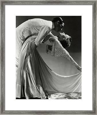 Jack Holland And June Hart Dancing Framed Print