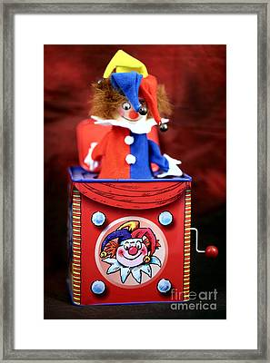 Jack In The Box Framed Print by John Rizzuto