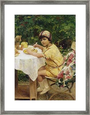 Jack In The Garden Framed Print