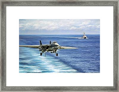 Jack In The Groove Framed Print by Peter Chilelli