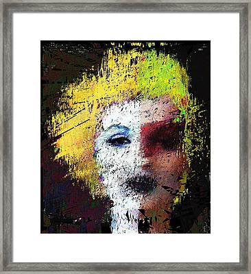 Jack Is That You Honey Framed Print by Brett Sixtysix