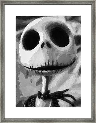 Jack Framed Print by Joe Misrasi