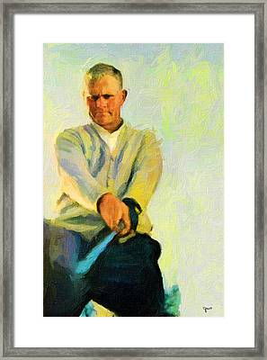 Jack Framed Print by John Farr