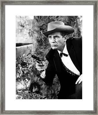 Jack Kelly In Maverick  Framed Print