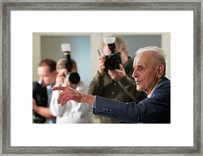 Jack Kevorkian Framed Print by Jim West