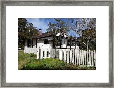 Jack London Cottage 5d22122 Framed Print by Wingsdomain Art and Photography