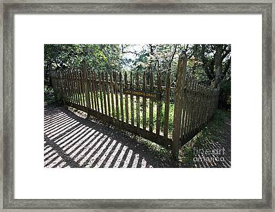 Jack London Grave Site 5d21989 Framed Print by Wingsdomain Art and Photography