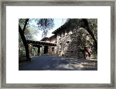 Jack London House Of Happy Walls 5d21966 Framed Print by Wingsdomain Art and Photography