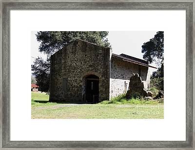 Jack London Ranch Distillery 5d22173 Framed Print by Wingsdomain Art and Photography