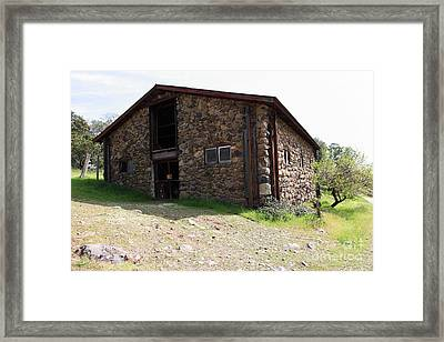 Jack London Stallion Barn 5d22086 Framed Print by Wingsdomain Art and Photography