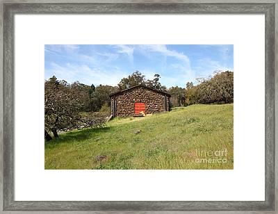 Jack London Stallion Barn 5d22100 Framed Print by Wingsdomain Art and Photography
