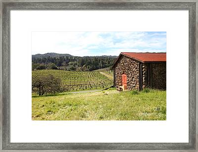 Jack London Stallion Barn 5d22106 Framed Print by Wingsdomain Art and Photography