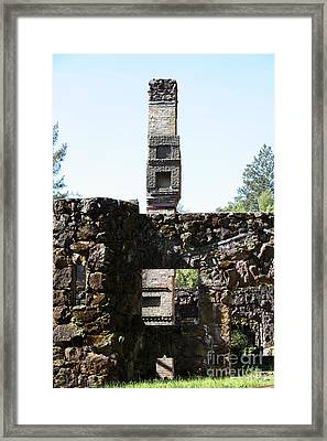 Jack London Wolf House 5d22041 Framed Print by Wingsdomain Art and Photography