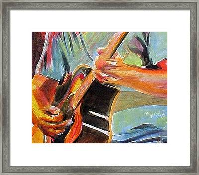 Jack Man Johnson Framed Print by Therese Fowler-Bailey