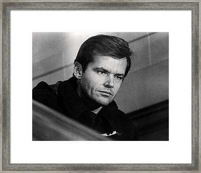 Jack Nicholson In Five Easy Pieces  Framed Print by Silver Screen