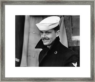 Jack Nicholson In The Last Detail  Framed Print