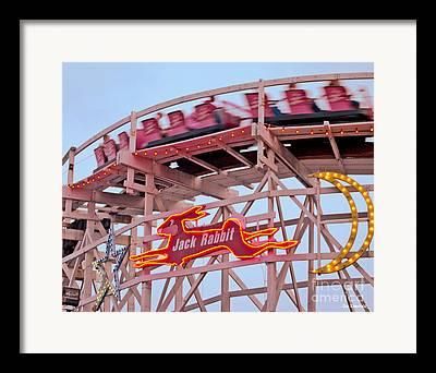Rollercoaster Framed Prints