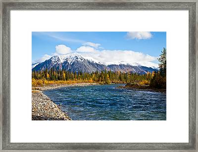 Jack River Alaska Framed Print