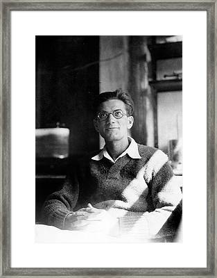 Jack Schultz Framed Print by American Philosophical Society
