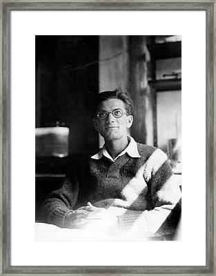 Jack Schultz Framed Print