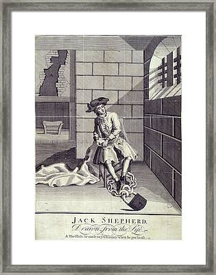 Jack Sheppard Framed Print by British Library