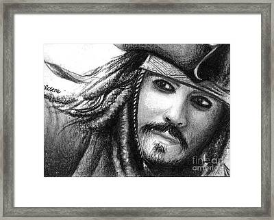 Jack Sparrow Framed Print