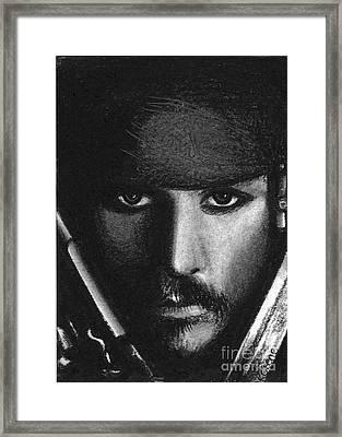 Jack Sparrow II Framed Print