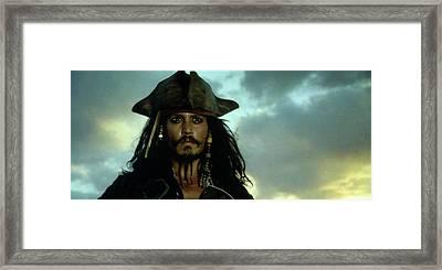 Jack Sparrow Framed Print