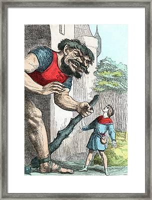 Jack The Giant Killer Framed Print