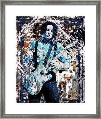 Jack White - Original Painting Art Print Framed Print