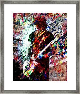 Jack White Original Painting Print Framed Print