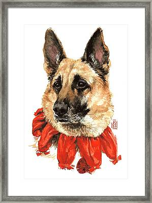 Jackie Framed Print by Debra Jones