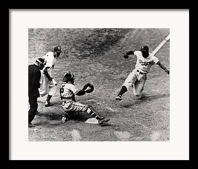 Baseball Field Framed Prints