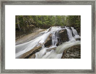 Jackman Falls - North Woodstock New Hampshire Usa  Framed Print by Erin Paul Donovan