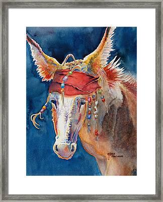 Jack Burro -  Donkey Framed Print