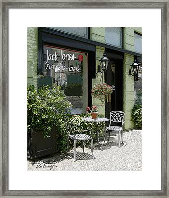 Jack's Java Framed Print