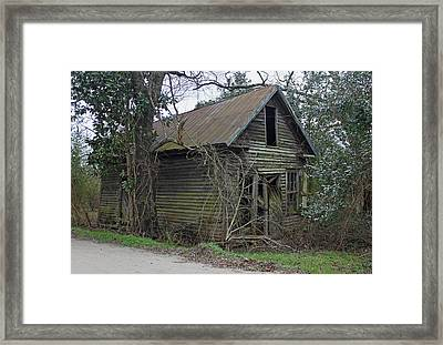 Jacks Lookout - Gallivants Ferry Framed Print by Suzanne Gaff