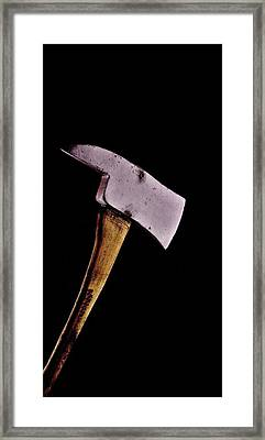 Jack's Phone Framed Print by Benjamin Yeager